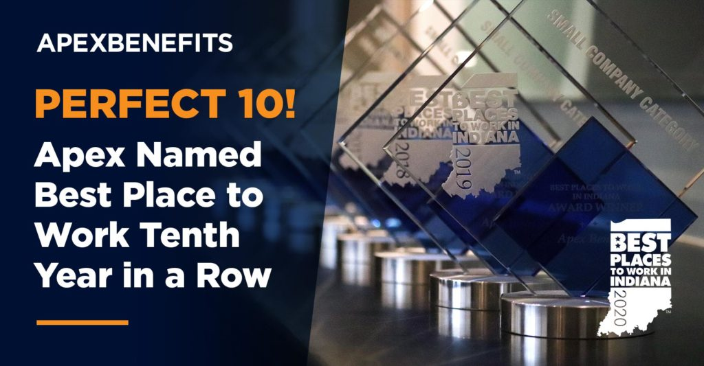 Perfect 10! Apex Named Best Place to Work Tenth Year in a Row