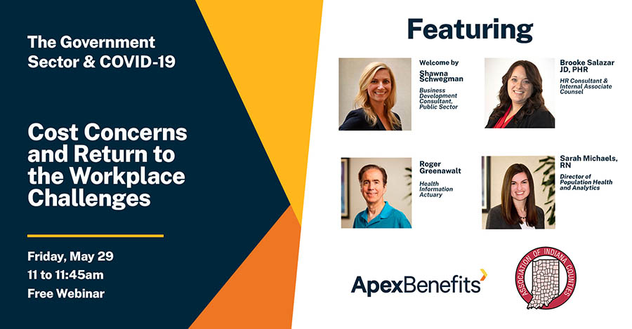 Apex, AIC Discussion: Cost Concerns and Return to the Workplace Challenges