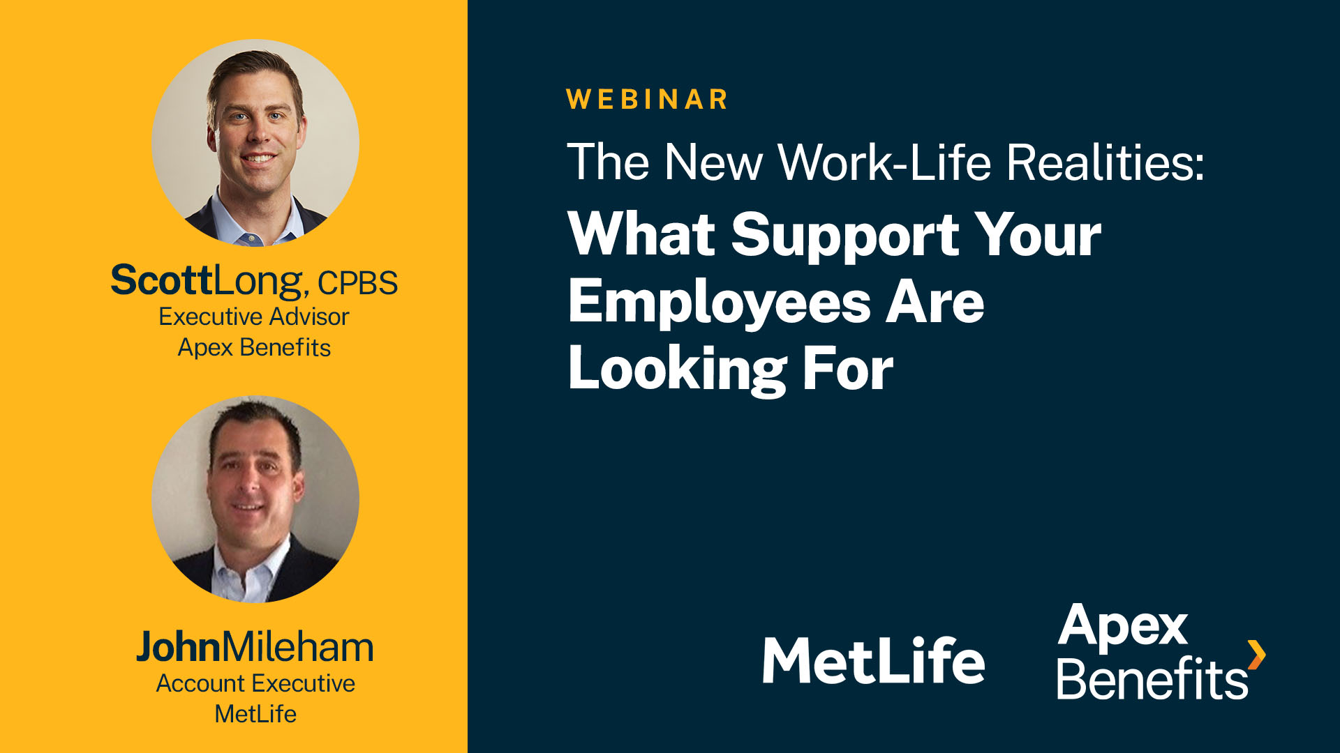 The New Work-Life Realities: What Support Your Employees Are Looking For